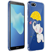Scratchproof baby elephant hard case, silicone case for Huawei Y5 2018/Honor 7S