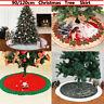 Christmas Tree 90/120cm Skirt Base Home Floor Mat Xmas Ornament for Party Decor