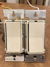 2-Pack Lightolier Compose Plc Switch Ci1000Vaplc Ivory 1000Va 120Vac *Used*