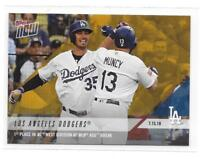 2018 Topps Now Los Angeles Dodgers Road to Opening Day Bonus Card - PR 528
