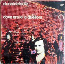VINILE LP 33 GIRI RPM ALUNNI DEL SOLE DOVE ERA LEI A QUELL'ORA PA/LPS 38 ITALY 1