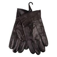 Genuine Leather Gloves Driving Winter Gloves for Men Supple Sheepskin Leather