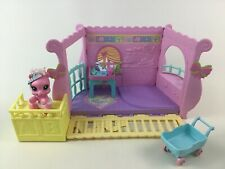 My Little Pony Newborn Cuties Baby Playset w Highchair Changing Table Stroller