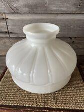 Vintage Coleman Gas Lamp Milk Glass Shade