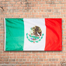 New Design 3'x5' Ft National Mexico Flag Mexican Country Flag Polyester Grommets