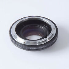 Reducer speed booster turbo adaptador Canon FD lente to m4/3 mft GH4 GF6 GX1 EM5