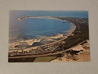 Vintage Postcard MA Cape Cod Aerial View of Outer Cape Cod Unposted  #539