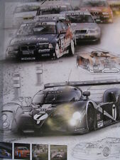 Poster Bentley Speed 8 EXP 2003 #7 24 h Le Mans