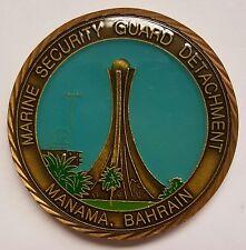 "USMC Marine Security Guard Detachment MSG-Det Manama Bahrain 2"" Epoxy Dome"