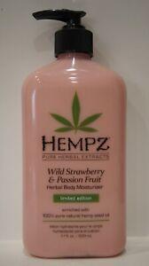 Hempz Wild Strawberry & Passion Fruit Limited Edition 100% Pure Body Moisturizer