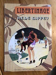 Livre BD Érotique « LIBERTINAGE » de Giffey Éditions Déesse.