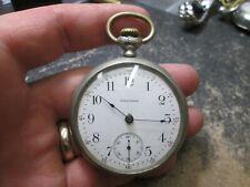 Vintage WALTHAM LARGE SIZE Case Pocket Watch