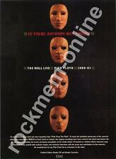 Pink Floyd Is Anybody Out There? The Wall Live 1980-81 LP Advert