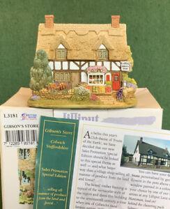 Lilliput Lane House - Gibsons Store
