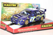 """Slot SCX Scalextric 6123 Subaru Impreza WRC """"Swrt"""" Nº8  - New"""