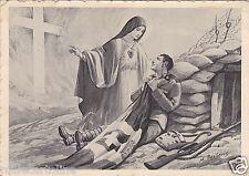 # ROMA: MISSIONI DEI SERVI DI MARIA - LA VERGINE CONFORTA IL SOLDATO FERITO