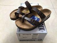 Birkenstock Mayari Birko-Flor Brown Sandals Men's Women's Shoes