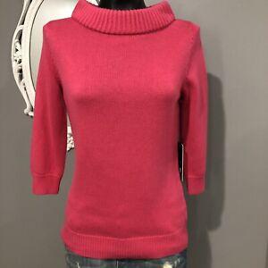 Medium - NWT RONDINA NEW YORK Pink Silk Blend Sweater