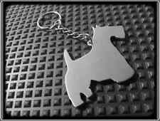 KEYRING DOG - SCOTTISH TERRIER - STAINLESS STEEL - HAND MADE - CHAIN KEY FOB