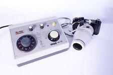 Zeiss Mc63 M35 Microscope Exposure Control Film Back Adapter Working Shutter