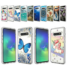 Fr Samsung Galaxy Note 10 Plus/S10 Shockproof Back Pattern Hybrid TPU Case Cover