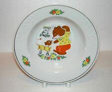 Vintage USSR BIG Porcelain PLATE / Porcelain SAUCER / PLATE Gilding edges