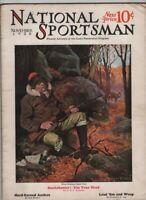 National Sportsman Mag The Game Restoration Program November 1928 020321nonr