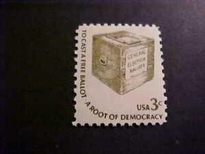 Scott# 1584 Ballot Box Unused OGNH
