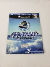 Nintendo Waverace Blue Storm Gamecube Strategy Guide Official