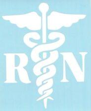 Registered Nurse RN Medical Car Truck Suv vinyl sticker decal