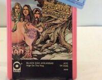 Vintage 8 Track Tape Black Oak Arkansas High On The Hog Pink Cartridge UNTESTED