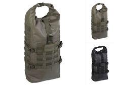 Mil-Tec Tactical Backpack Seals Dry-Bag 35l Schwarz Oliv Rucksack Seesack
