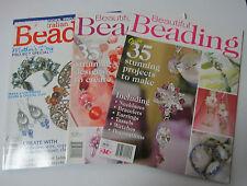 BEAUTIFUL BEADING Nos 1 and 2 + Australian Beading vol 4 no. 2 Jewellery making