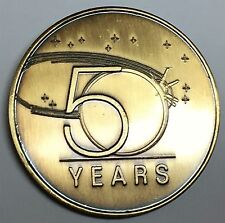 N600     NASA  SPACE  COIN /  MEDAL,   50th ANNIVERSARY OF SPACE EXPLORATION