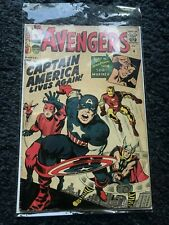 Avengers Captain America Lives Again No.4 Marvel Collectors Comic
