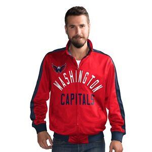 Washington Capitals NHL G-III Sports FINAL FOUR Full Zip Track Jacket - Red