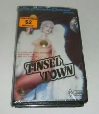 Tinsel Town The Pleasure Channel Rated R Sexy Adult VE Video Excellence PAL VHS