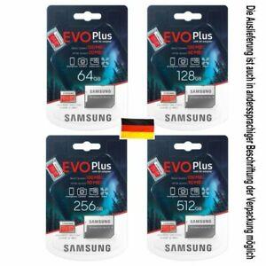 SAMSUNG evo plus  evo+ micro SD 64 - 512GB originalverpackt