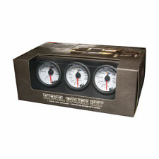 GLOWSHIFT WHITE 7 COLOR DIESEL GAUGE SET - BOOST, PYROMETER EGT, TRANS TEMP