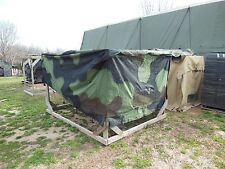 MILITARY SURPLUS HMMWV COVER M998  TRUCK CARGO BED TENT TRAILER ARMY US HUMMER