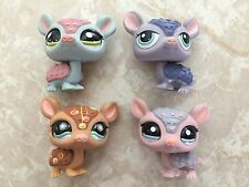 Littlest Pet Shop RARE Armadillo #1454 1007 1736 1379 Postcard Tattoo HUGE Lot