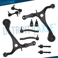 Acura TSX Honda Accord 2.4L 10pc Control Arm Ball Joint Sway Bar Tie Rod Kit