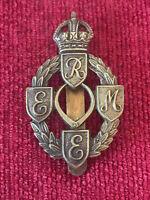 Royal Electrical Mechanical Engineers REME Cap Badge Genuine British Army 21/5