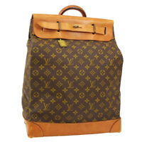 LOUIS VUITTON STEAMER 35 TRAVEL HAND BAG 889718 PURSE MONOGRAM M41128 02823
