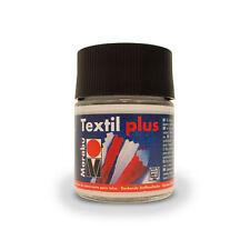 Marabu Textil Plus 50ml Weiß Textilfarbe Stoffmalfarbe Kleiderfarbe