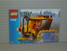 LEGO® City Bauanleitung 7242 Kehrmaschine Street Sweeper instruction B4866