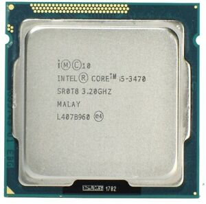 Intel Core i5-3470 3.2GHz SR0T8 QuadCore Processor LGA 1155