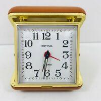 Vintage Estyma Travel Alarm Clock Spares &/Or Repairs Restoration