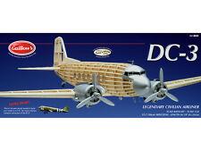 Balsa Wood Model Airplane Kit Douglas DC-3 Guillow's GUI-804