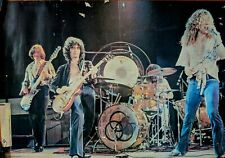 Led Zeppelin Poster Band Shot Vintage 70s
